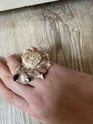Muschel Shell Ring Naturschmuck