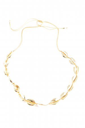 "Tohum Shell Necklace ""Tohum Muschelkette 24 kt. vergoldet"" gold-colored"