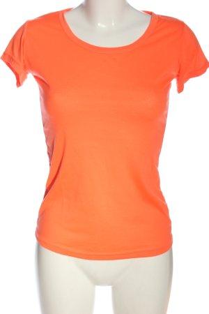 Muse T-shirt arancione chiaro stile casual