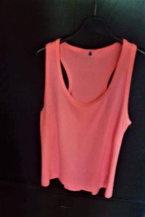 Athmosphere Muscle Shirt neon pink polyester