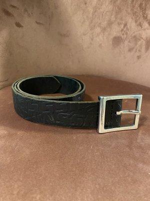 Miss Sixty Cintura di pelle nero