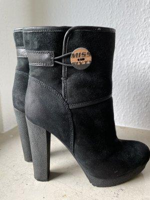 Miss Sixty Bottine d'hiver noir-gris