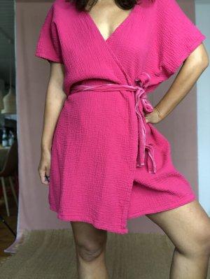 BEL Clothing Caftan violet cotton