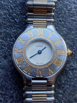 must de Cartier Orologio analogico argento-oro