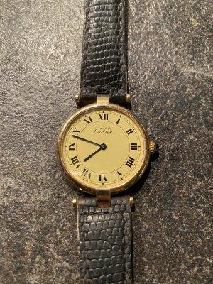 must de Cartier Reloj analógico color plata-negro