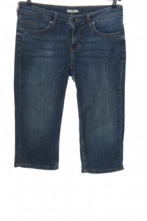 Mustang 3/4-jeans blauw casual uitstraling