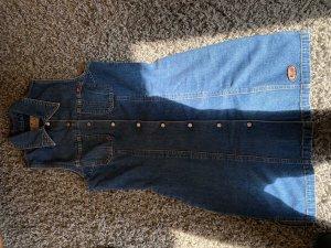 Mustang Robe en jean bleu foncé