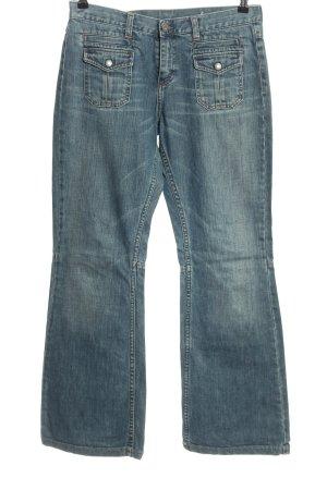 Mustang Jeans bootcut bleu style décontracté