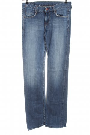 Mustang Boot Cut Jeans blau Casual-Look