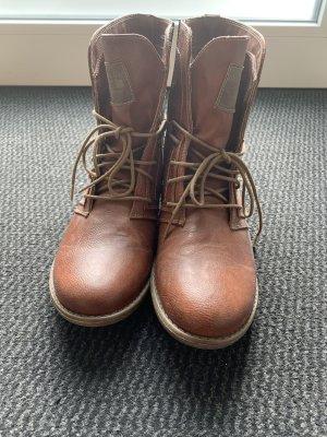 Mustang Shoes Botas de tobillo marrón