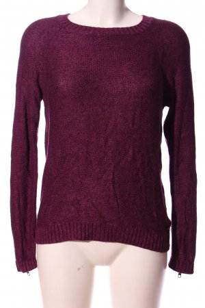 Mustang Coarse Knitted Sweater pink casual look