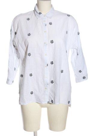 Mustang Camicia blusa bianco-nero stile professionale