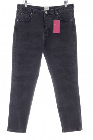 Mustang Hoge taille jeans donkergrijs Jeans-look