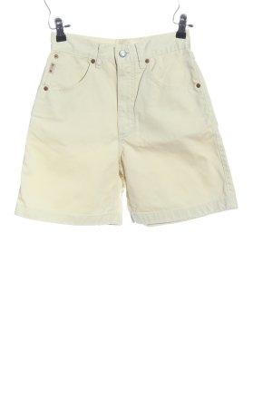 Mustang High-Waist-Shorts wollweiß Casual-Look