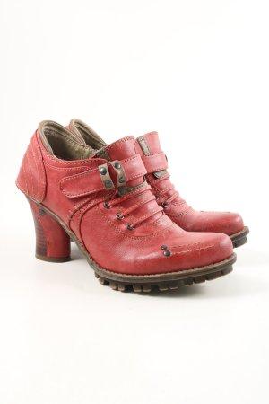 """Mustang Chaussure à talons carrés """"W-hal2tz"""" rouge"""
