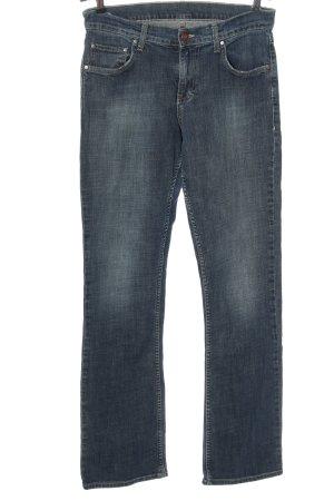 Mustang Jeans vita bassa blu stile casual