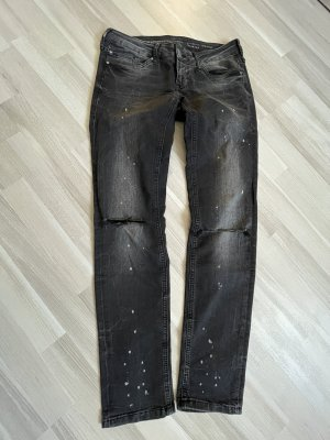Mustang Jeans a sigaretta nero
