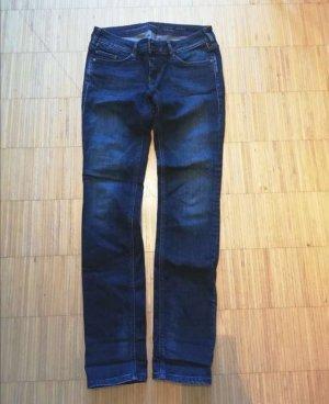 Mustang Drainpipe Trousers blue