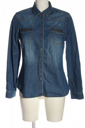Mustang Denim Shirt blue casual look