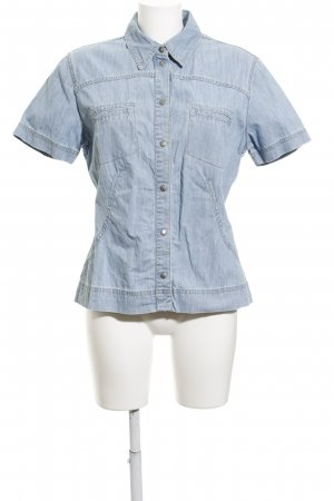 Mustang Jeanshemd himmelblau Jeans-Optik