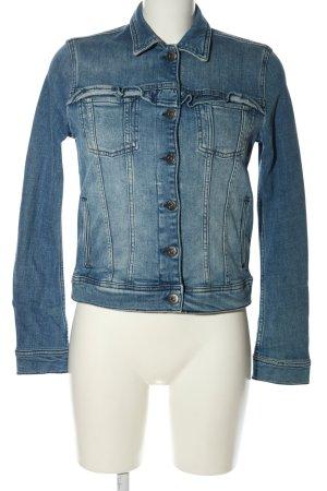 Mustang Jeansjacke blau Casual-Look