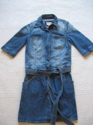 mustang jeanskleid gr. s 36 neuwertig