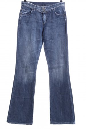 Mustang Jeansschlaghose blau Casual-Look