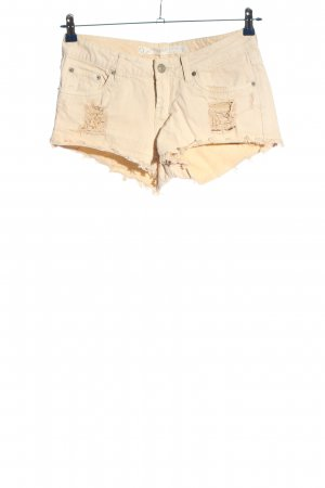 Mustang Jeansshorts creme Casual-Look