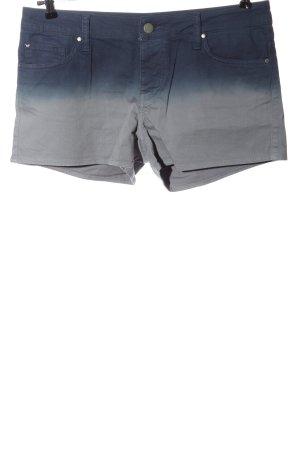 Mustang Denim Shorts blue-light grey color gradient casual look