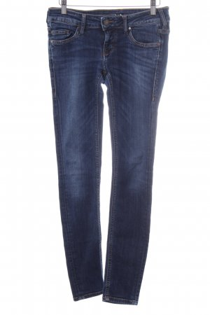 Mustang Jeggings blau Casual-Look