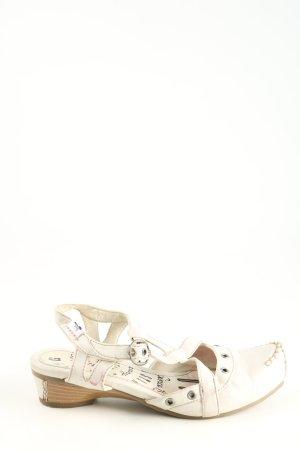 Mustang Riemchen-Sandalen wollweiß Casual-Look
