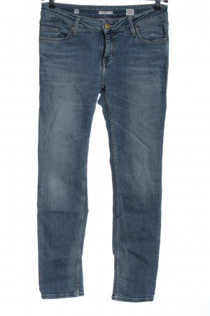 Mustang Jeans a sigaretta blu stile casual