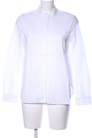Mustang Ruffled Blouse white business style