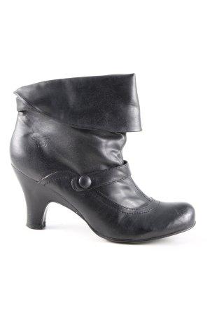 Mustang Shoes Schlüpf-Stiefeletten schwarz Casual-Look