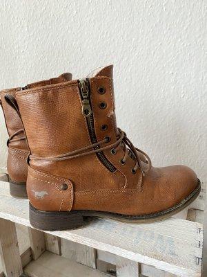 Mustang Booties brown
