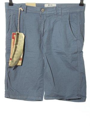 Mustang Shorts blau Casual-Look