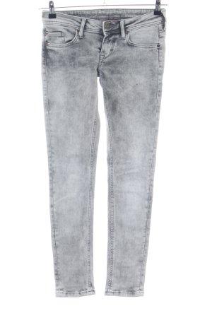 Mustang Skinny Jeans hellgrau Casual-Look