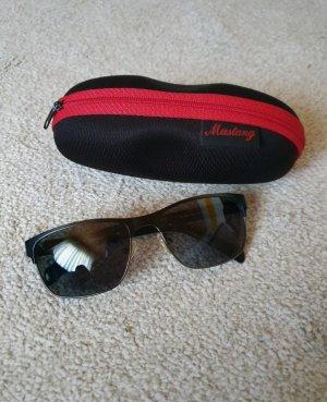 Mustang Gafas de sol cuadradas negro