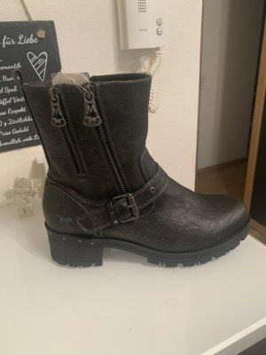 Mustang Heel Boots black