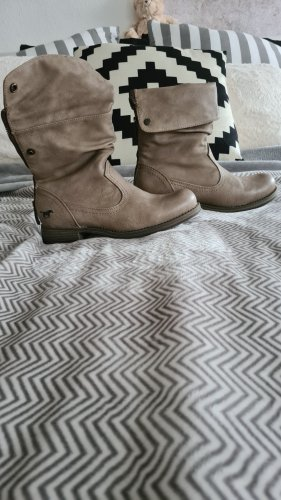Mustang Stiefelette Gr 37 taupe