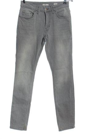 Mustang Jeansy z prostymi nogawkami jasnoszary W stylu casual