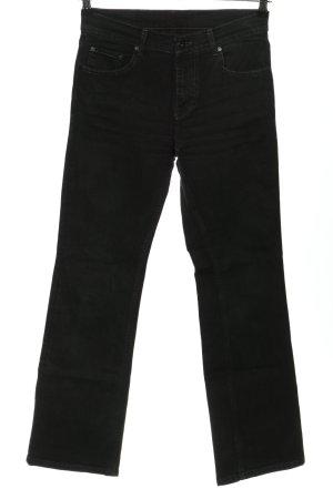 Mustang Straight-Leg Jeans schwarz Casual-Look
