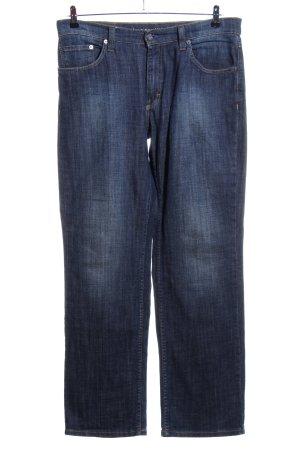 Mustang Straight-Leg Jeans blau Casual-Look