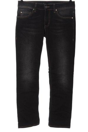 Mustang Jeansy z prostymi nogawkami czarny W stylu casual