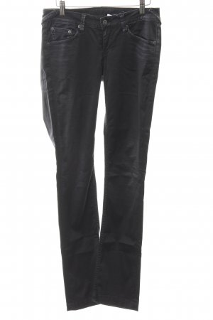 Mustang Straight-Leg Jeans anthrazit Glanz-Optik