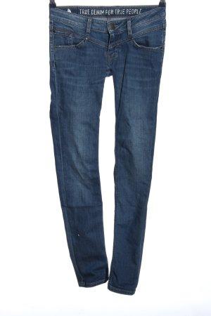 Mustang Jeansy z prostymi nogawkami niebieski W stylu casual