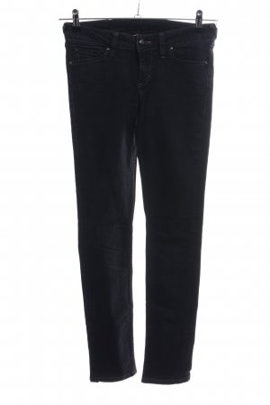 Mustang Straight-Leg Jeans schwarz Casual-Look