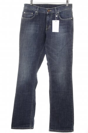 Mustang Straight-Leg Jeans dunkelblau Casual-Look