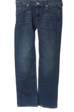 Mustang Jeans a gamba dritta blu stile casual