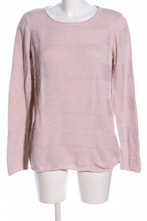 Mustang Strickpullover pink Zopfmuster Casual-Look